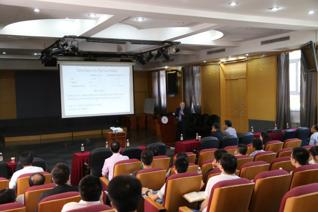 Professor Daniel Weihs is delivering lecture on September 12th, 2017